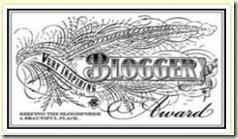 The Inspiring Blogger Award (1/2)