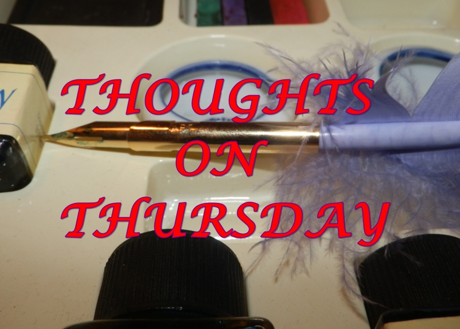 Thoughts On Thursday – Given Pause forThought