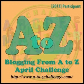A - Z Challenge 2013 (1/2)