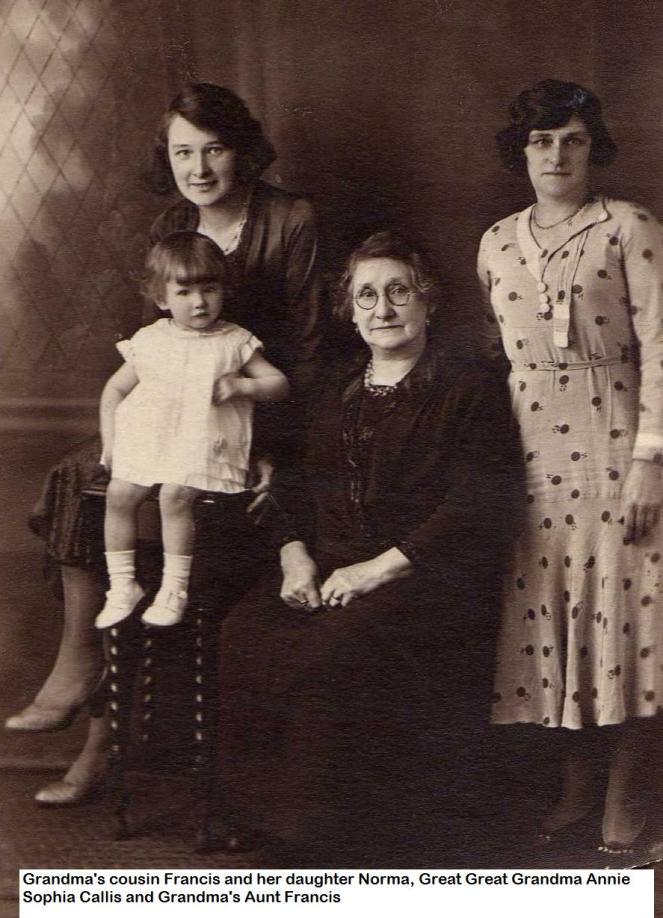 great great grandma callis