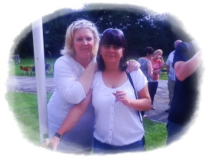Me and my friend Gail