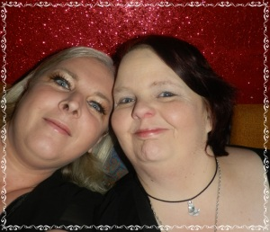 Me and my mate Mandy