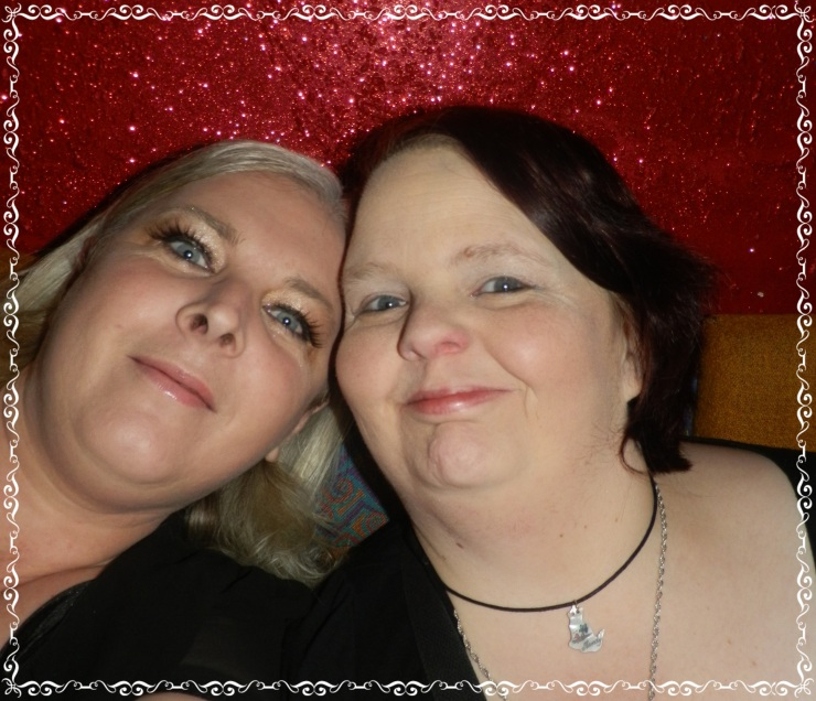 Me and my mate Mandy