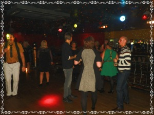 My Colleagues hit the dance floor - lots of sore joints the next day