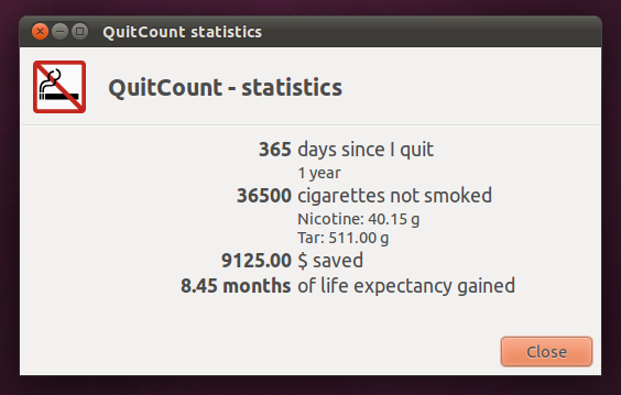 A Year of No Smoking (3/5)