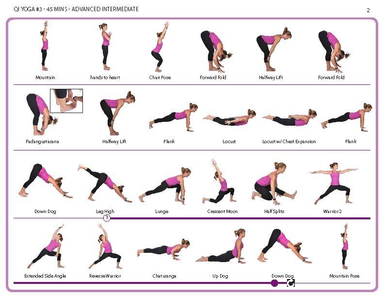 Yoga Asanas Chart With Name Pdf Poses And Hindi Names
