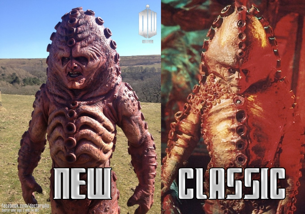 A to Z Challenge 2014 - Z is for Zygons (3/3)