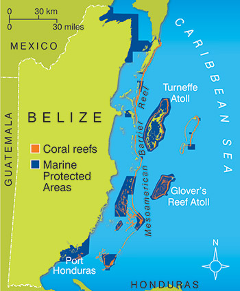 B is for Belize - Places I Dream of Seeing (2/5)