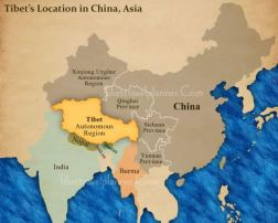 tibet-location-map