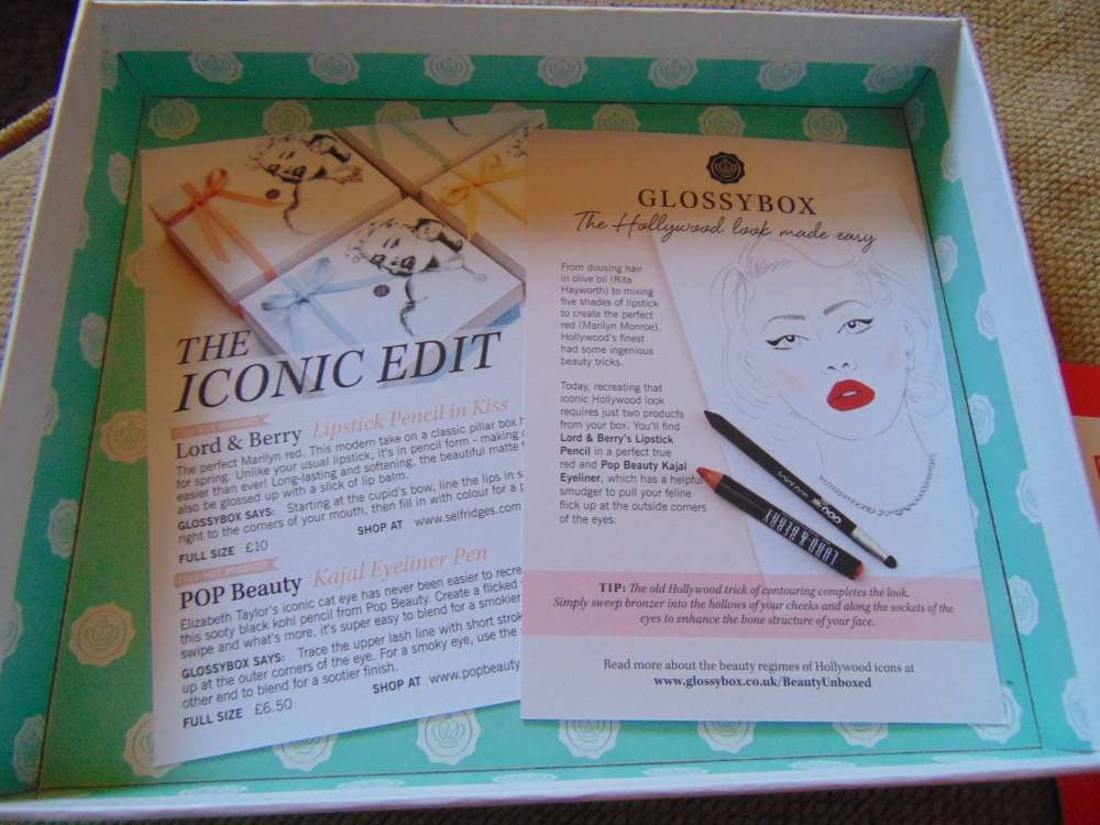 Glossybox Review April 2015 (3/6)
