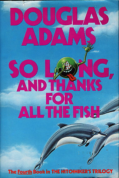 Book review so long and thanks for all the fish by for Book with fish on cover