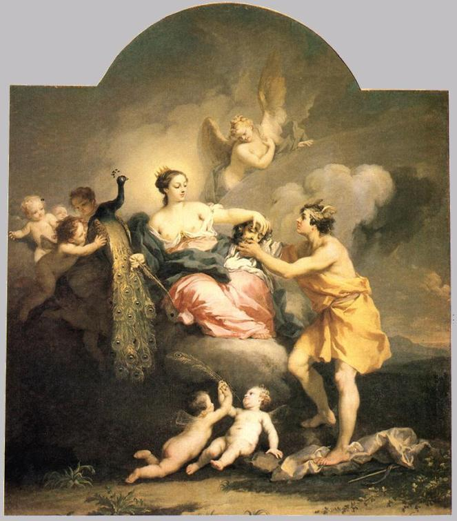 Jacopo_Amigoni_-_Juno_Receiving_the_Head_of_Argos_-_WGA00272